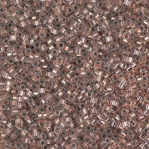 Delica 11/0 Copper Lined Crystal Cut (G) 100 Grams Miyuki® Beads (Rough Estimate 22800 Pcs)