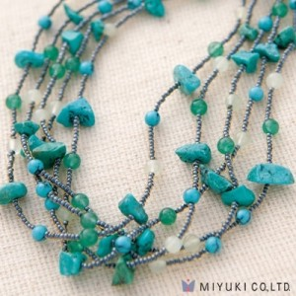 Miyuki® Stone Bunch Necklace Kit