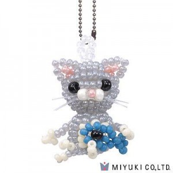 Cat - Miyuki® Mascot Fan Kit #29