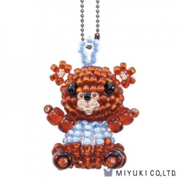 Bear - Miyuki® Mascot Fan Kit #33