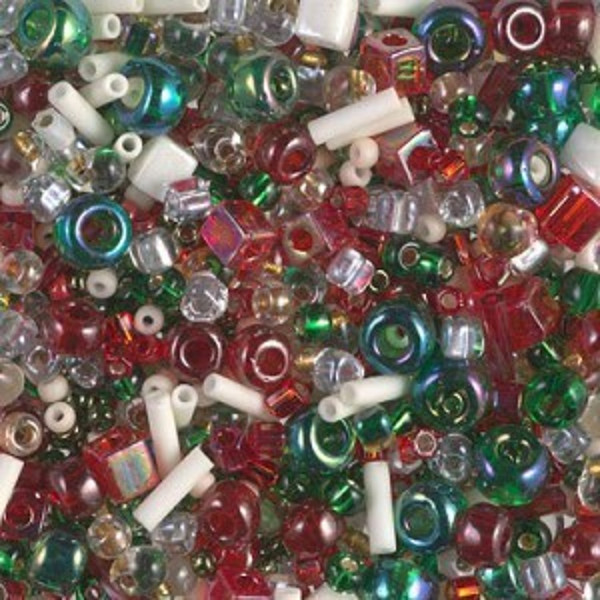 Multi Mix - Old Fashioned Christmas 250 Grams Miyuki® Beads