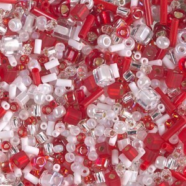 Multi Mix - Candy Cane 250 Grams Miyuki® Beads