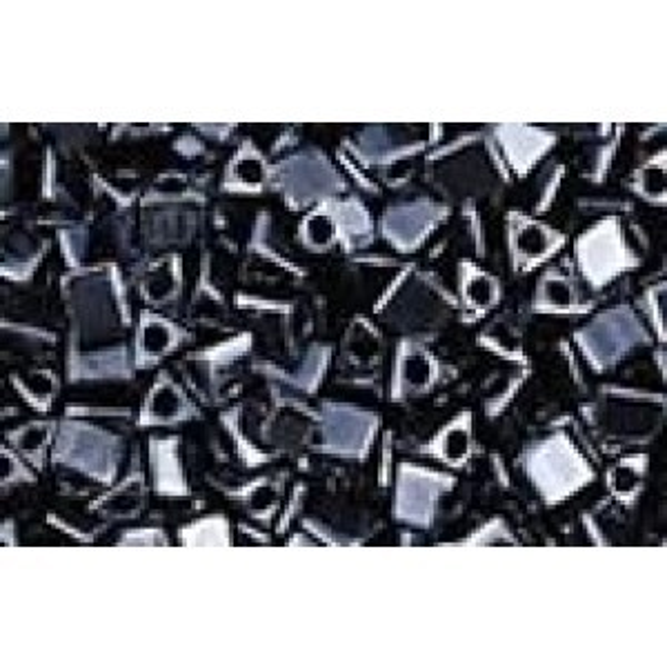 Miyuki® 10/0 Sharp Triangle Gunmetal 250 Grams