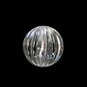 16mm Onion Crystal Acrylic Bead
