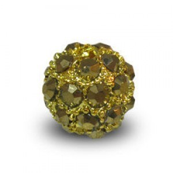 10mm Aurum Pave Ball