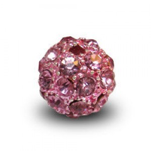 10mm Rose Pave Ball