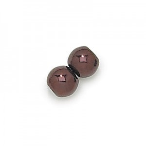 10mm Bronze Pearl Smooth Big Hole Pearl