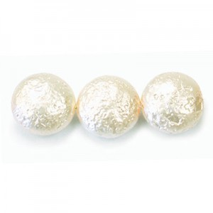 12mm Cream Pearl Coin (150pc)