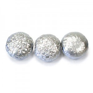 12mm Silver Pearl Coin (150pc)