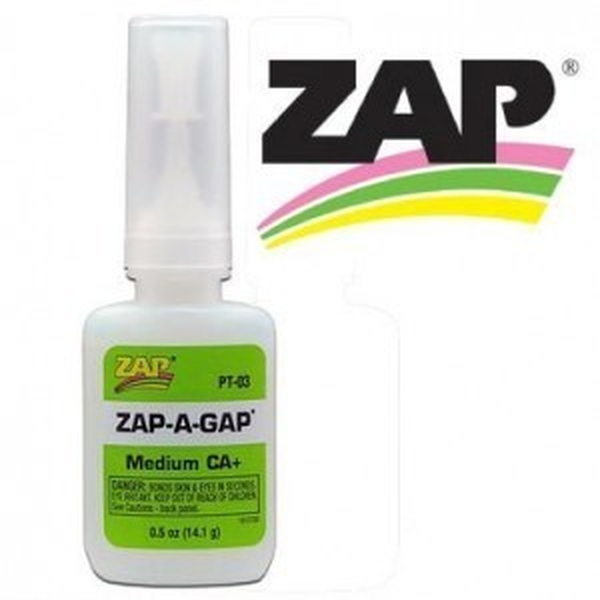 Zap-A-Gap Glue 0.50 Oz (14.2 Gram) Bottle