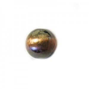 8mm Smooth Round Bead Brushed Satin Copper