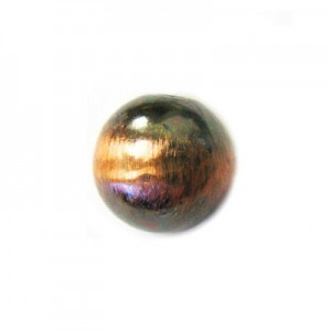 10mm Smooth Round Bead Brushed Satin Copper