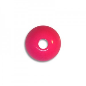 10mm Round Acrylic Bead Fuchsia Opaque Polished (108 Pcs Per Bag)