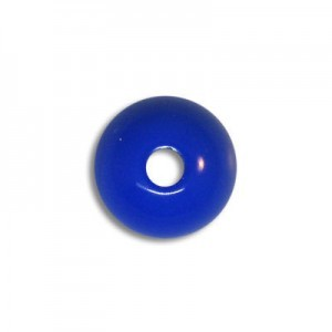 10mm Round Acrylic Bead Royal Blue Opaque Polished (108 Pcs Per Bag)