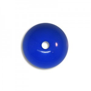 12mm Round Acrylic Bead Royal Blue Opaque Polished (72 Pcs Per Bag)