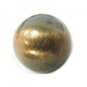 16mm Smooth Round Bead Brushed Satin Copper