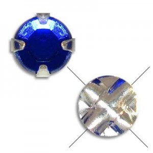20ss Sapphire on Silver Extra Rose Rosemontees - 144pc