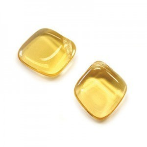 12x14mm Honey Diamond Drop Loose (150pc)