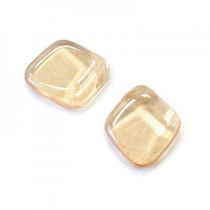 12x14mm Crystal Champagne Diamond Drop Loose (150pc)