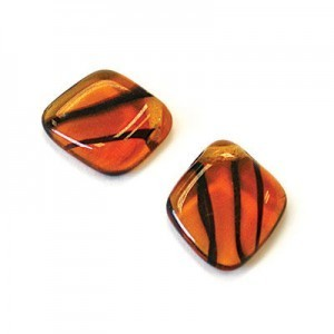 12x14mm Tortoise Shell Diamond Drop Loose (150pc)
