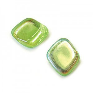 12x14mm Peridot AB Diamond Drop Loose (150pc)