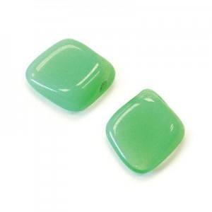 12x14mm Green Opal Diamond Drop Loose (150pc)