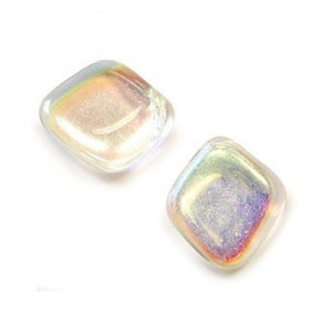 12x14mm Crystal AB Diamond Drop Loose (150pc)