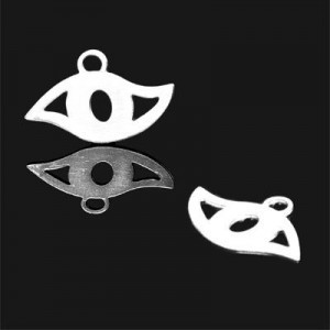 13x20 Lucky Eye Charm Forever Silver™ 5pcs