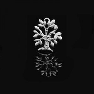 20x15mm Tree of Life Charm Forever Silver™ 5pcs