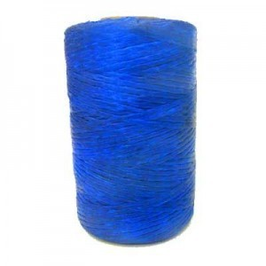 Blue Artificial Sinew Waxed Polyester Cord 8oz Spool (Approx. 272 Yd)
