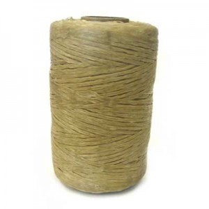 Natural Artificial Sinew Waxed Polyester Cord 8oz Spool (Approx. 272 Yd)