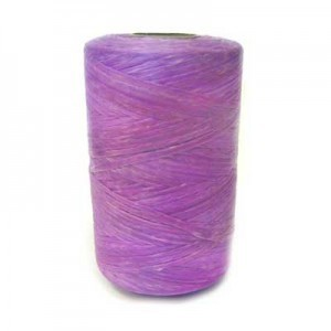 Purple Artificial Sinew Waxed Polyester Cord 8oz Spool (Approx. 272 Yd)