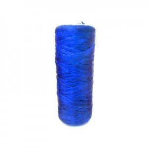 Blue Artificial Sinew Waxed Polyester Cord 1oz Spool (Approx. 34 Yd)