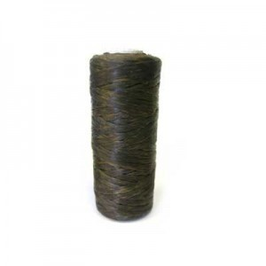 Dark Brown Artificial Sinew Waxed Polyester Cord 1oz Spool (Approx. 34 Yd)