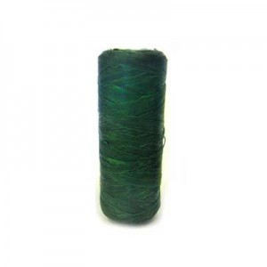 Dark Green Artificial Sinew Waxed Polyester Cord 1oz Spool (Approx. 34 Yd)