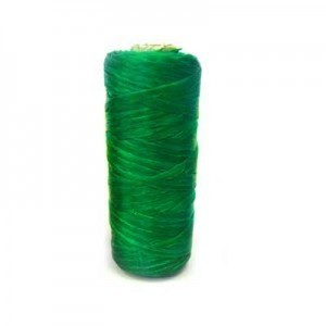 Emerald Green Artificial Sinew Waxed Polyester Cord 1oz Spool (Approx. 34 Yd)