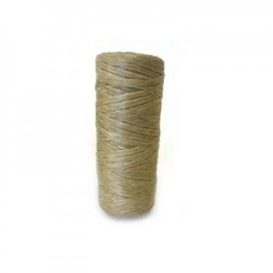 Natural Artificial Sinew Waxed Polyester Cord 1oz Spool (Approx. 34 Yd)