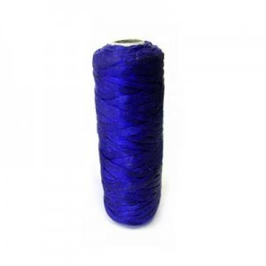 Royal Blue Artificial Sinew Waxed Polyester Cord 1oz Spool (Approx. 34 Yd)