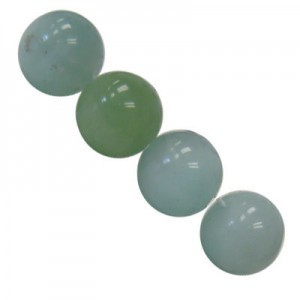10mm Amazonite Smooth Round Bead 16 Inch Strand (Approx. 40 Beads)