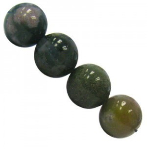 6mm Fancy Jasper Smooth Round Bead 16 Inch Strand (Approx. 67 Beads)
