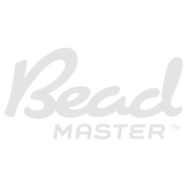 8x8mm Crystal on Antique Brass Czech Rhinestone Squaredelles
