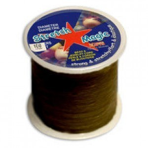 Stretch Magic® 0.5mm Black - 100 Meters Elastic Jewelry Cord