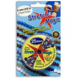 Stretch Magic® 0.5mm Clear - 25 Meters Elastic Jewelry Cord