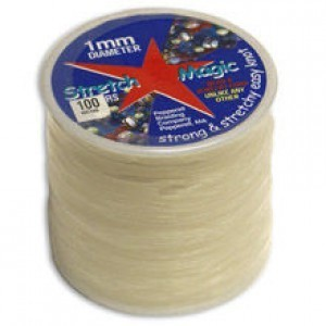 Stretch Magic® 1mm Clear - 100 Meters Elastic Jewelry Cord