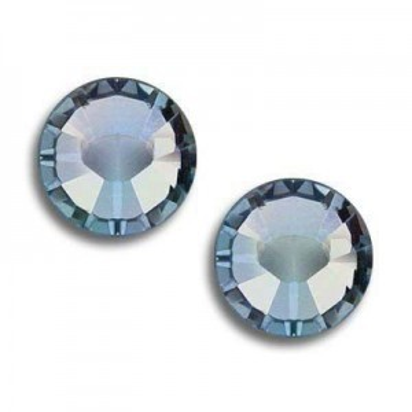 5ss Xilion Flatback Aquamarine AB Foiled Art. 2058 Swarovski® Austrian Crystal Stones