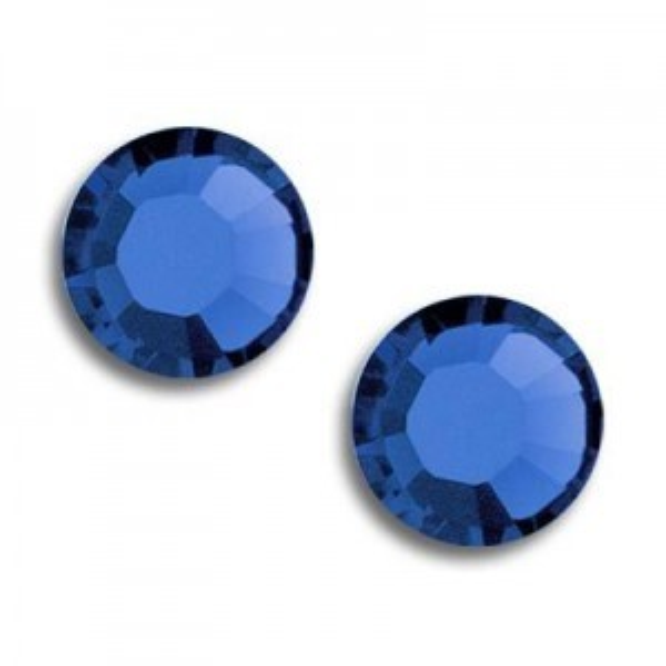7ss Xilion Flatback Capri Blue Foiled Art. 2058 Swarovski® Austrian Crystal Stones