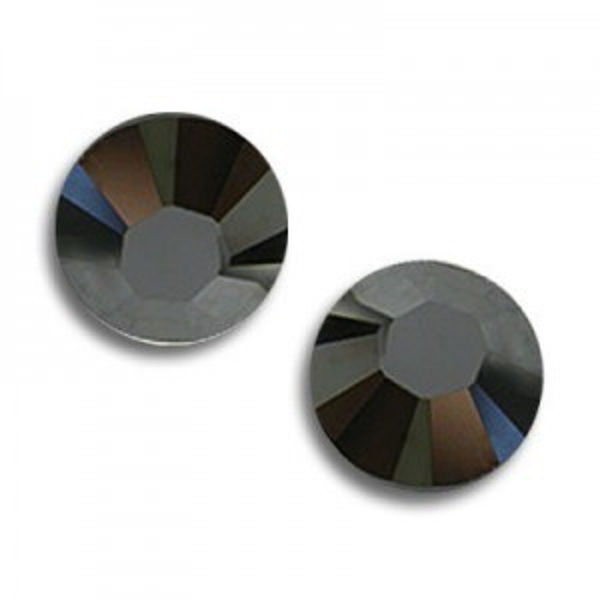 9ss Xilion Flatback Hematite Unfoiled Art. 2058 Swarovski® Austrian Crystal Stones
