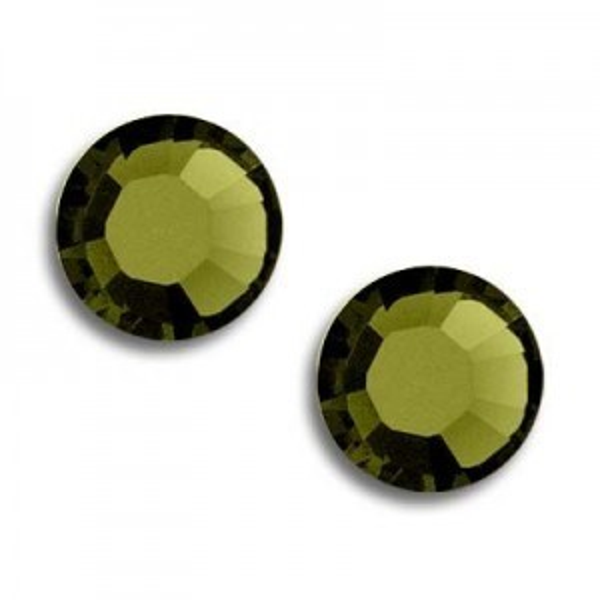 5ss Xilion Flatback Khaki Foiled Art. 2058 Swarovski® Austrian Crystal Stones
