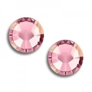 9ss Xilion Flatback Light Rose AB Foiled Art. 2058 Swarovski® Austrian Crystal Stones