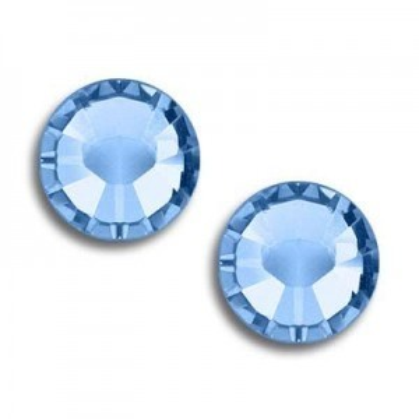 9ss Xilion Flatback Light Sapphire Foiled Art. 2058 Swarovski® Austrian Crystal Stone